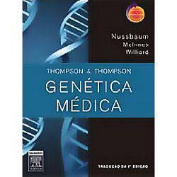 Tudo sobre 'Livro - Thompson e Thompson Genética Médica'