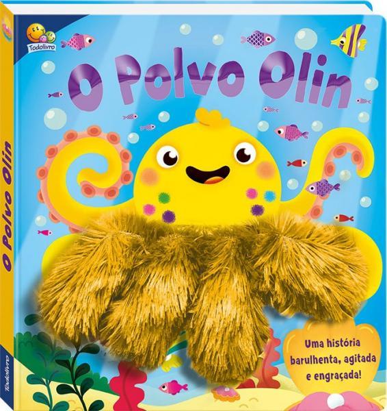 Livro - um Livro-dedoche: o Polvo Olin