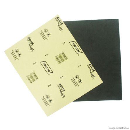 Lixa D'água 22,5x27,5cm Gramatura Preta 100 Norton