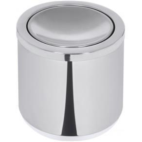 Lixeira Inox Pt Po Capsula Basculante 10L - 94540022 - Tramontina Teec