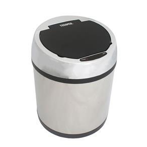 Lixeira Inox Sensor Automático 6 Litros TL6L Tssaper - PRATA