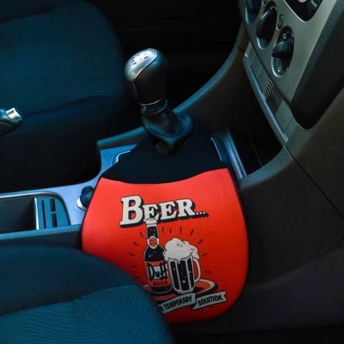 Lixeira para Carro em Neoprene - Beer