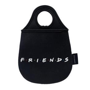 Lixeira para Carro Friends Logo Preto