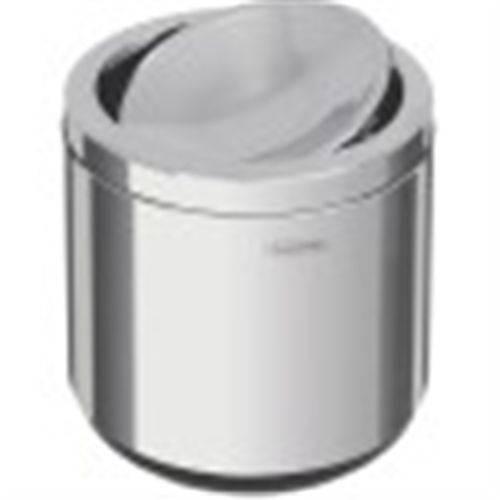 Lixeira Tramontina Inox Basculante 10l Preto Polido 94540/022