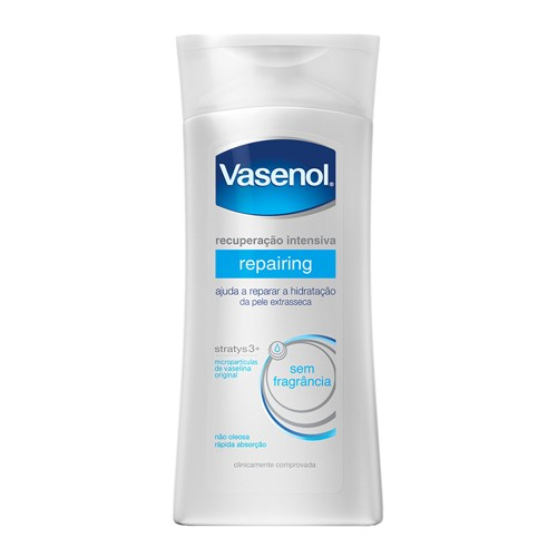 Loção Hidratante Vasenol Recuperação Intensiva Repairing com 200ml