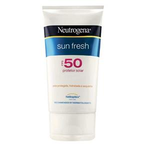 Loção Protetora - Neutrogena Sun Fresh Fps 50 - 120ml