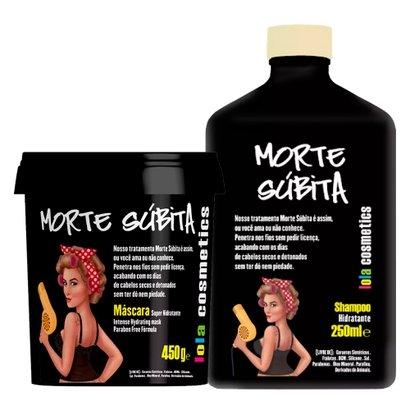 Lola Cosmetics Morte Súbita Kit - Shampoo + Máscara Kit