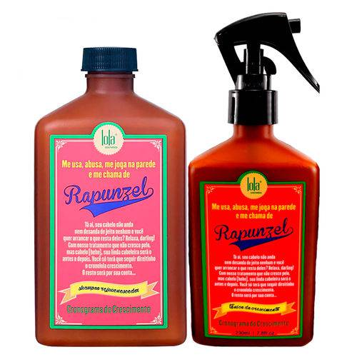 Lola Cosmetics Rapunzel Kit - Shampoo + Tônico