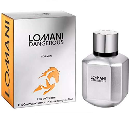 Lomani Perfume Dangerous Masculino Eau de Toilette 100ml