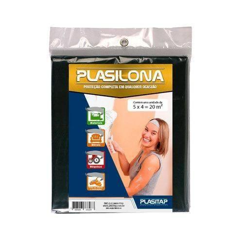 Lona de Polietileno 5 X 4 M - Plasilona - Plasitap