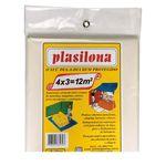 Lona Plástica 4 X 3 Mtransparente Plasitap