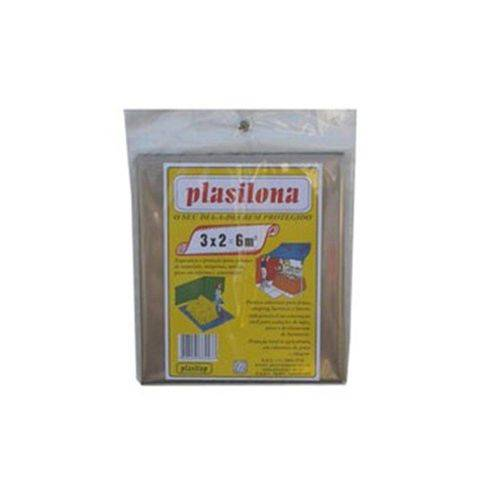 Lona Plástica Plasitap 3x2 6m Transparente