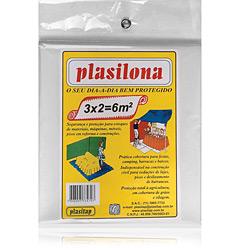 Lona Plástica 3x2m Transparente - Plasitap