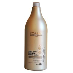 Loreal Absolut Repair Cortex Lipidium - Shampoo Reconstrutor - 500ml - 1500ml