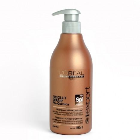 L'oréal Absolut Repair Pós Química Shampoo 500ml - Loreal