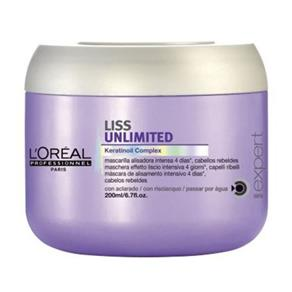 Loreal Liss Unlimited Máscara - 200g