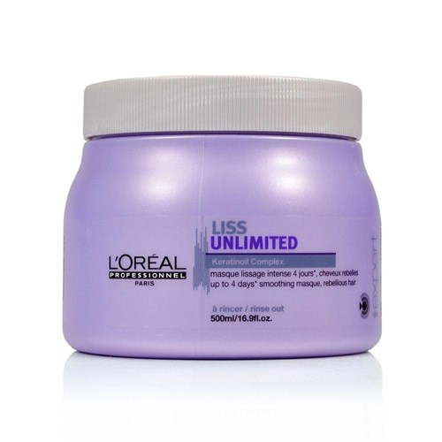 Loreal Liss Unlimited Máscara 500g