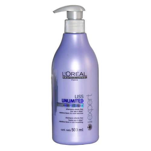 Loreal Liss Unlimited - Shampoo 500 Ml