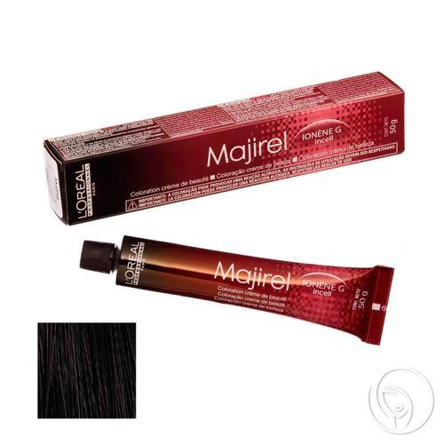 L'oréal Professionnel - Coloração Majirel Nº 1 Preto - 50g