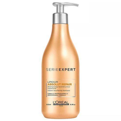 Tudo sobre 'Loreal Profissional Absolut Repair Cortex Lipidium Shampoo 500ml'