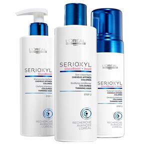 Loreal Serioxyl Fuller Hair Programa Completo para Perda de Densidade Capilar Kit 1