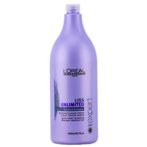 Loreal Shampoo Liss Unlimited 1500ML
