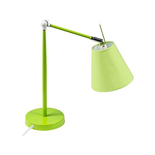 Luminária de Mesa Regulável Verde