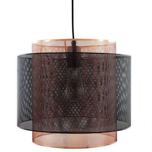 Luminária Lustre Pendente 34,5x31,5x34,5cm Metal Cobre