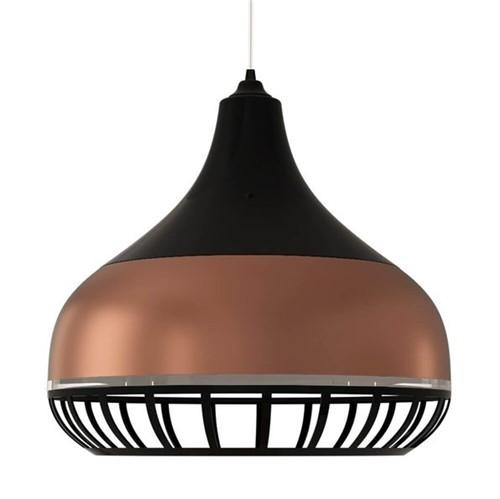 Tudo sobre 'Luminária Pendente Spirit Combine 1340 Preta Bronze Preta'