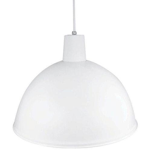 Luminária Pendente Taschibra Branco, 38 Cm