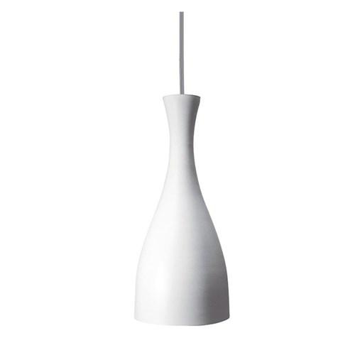 Luminária Pendente Taschibra Design Td 1003 E27 Bivolt Branca Fosca