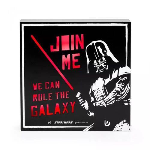 Luminária Quadro Star Wars Império Darth Vader