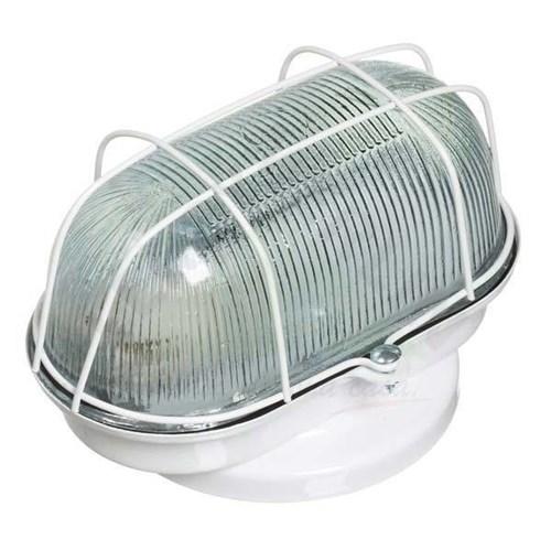 Luminária Tartaruga 1 Lâmpada Branca Metal e Vidro Franzmar