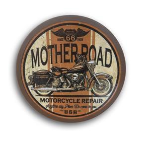 Luminoso de Parede Marrom Mother Road