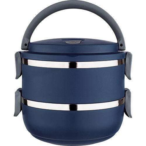 Tudo sobre 'Marmita Lunch Box Azul - Euro Home'