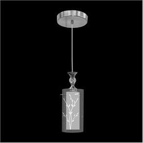 Lustre Mini Taschibra Design TD 292/1 - 1 Lâmpada - Branco