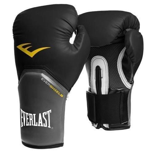 Luva Boxe Elite Pro Style Everlast - Preta - 08oz