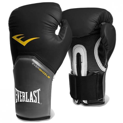 Luva Boxe Everlast Pro Style Elite Training 16 Oz Preta