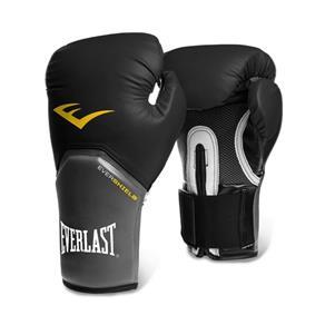 Luva de Boxe Everlast Pro Style - 12 Oz - Preto/Cinza