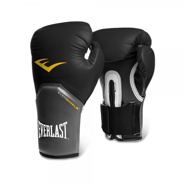 Luva de Boxe Everlast Pro Style Elite 08Oz Preta