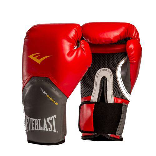 Luva de Boxe Everlast Pro Style Elite Training - Everlast - Vermelha