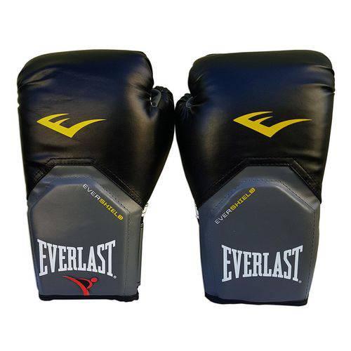 Luva de Boxe / Muay Thai 08oz - Preto - Pro Style - Everlast