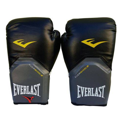Luva de Boxe / Muay Thai 14oz Preto Pro Style Everlast
