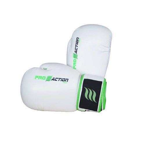 Tudo sobre 'Luva de Boxe / Muay Thai Proaction 12 OZ Branco'