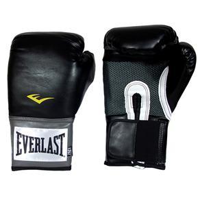 Luva de Boxe Unissex Everlast Pro Style - Preta - 14 Oz