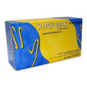 Luva de Látex para Procedimento Supermax EP C/100