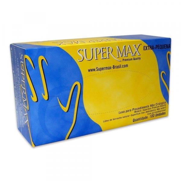 Luva de Látex para Procedimento Supermax EP