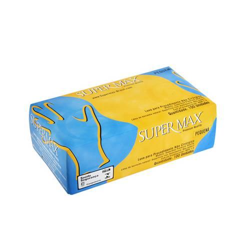 Luva de Látex para Procedimento Supermax P C/100