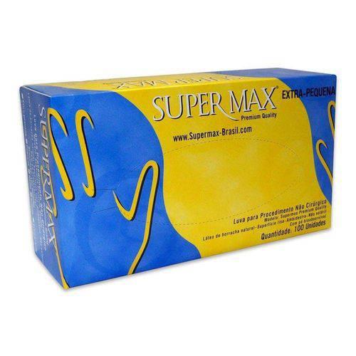 Luva de Procedimento com Pó Xp (Supermax)