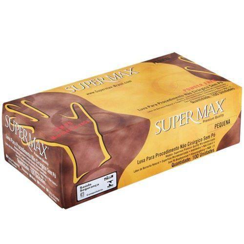 Luva de Procedimento Sem Pó Xp (Supermax)